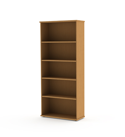 bookcase-5-tier-oak