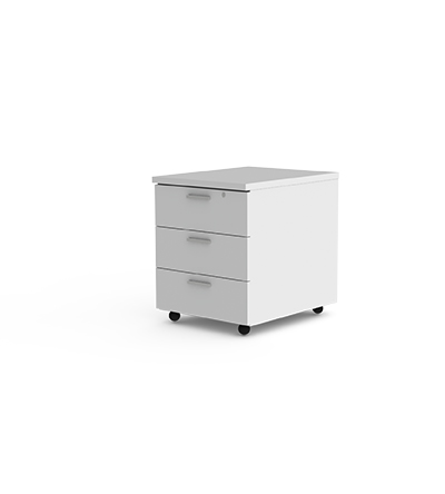 3 Drawer Mobile Pedestal Entrawood Office Furniture