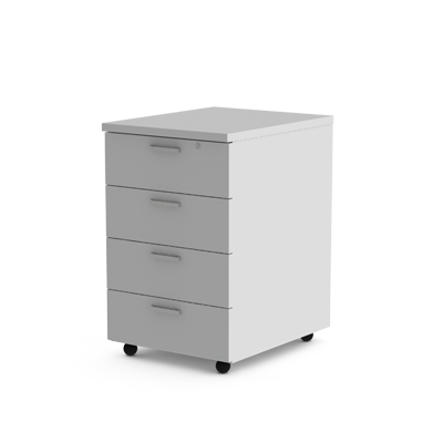 4-drawer-Mobile-Ped-white