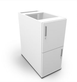 SLIM LINE 2DOOR PEDESTAL