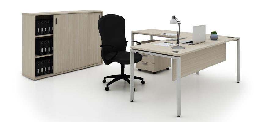 Evolution Manager Set Up 2 Entrawood Office Furniture