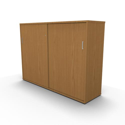 Sliding Door Cabinet oak