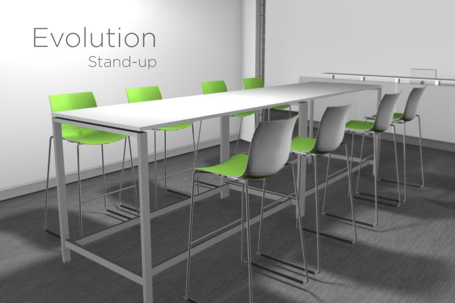 Standupmeeting ENTRAWOOD Office Furniture Manufacturer - Stand up meeting table