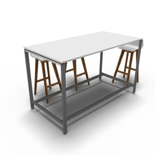 Evolution Standup Meeting Table ENTRAWOOD Office Furniture - Stand up meeting table