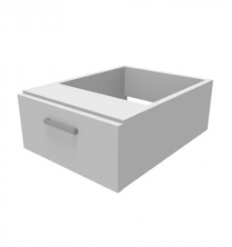 1-drawer-fitted-pedestal-White