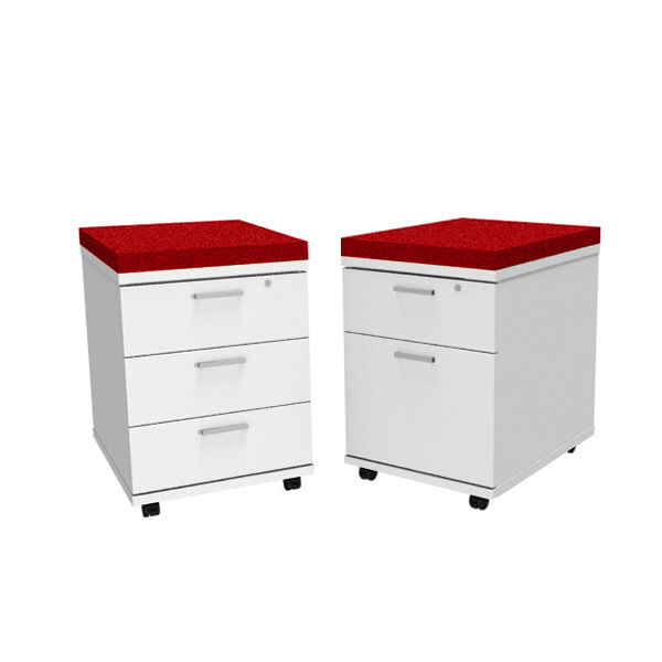 Mobile Pedestal With Cushion Entrawood Office Furniture