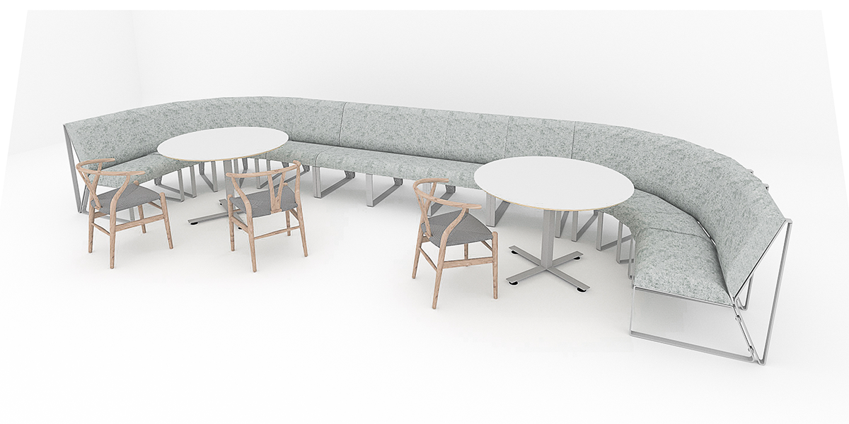 Shell Tall Meeting Table ENTRAWOOD Office Furniture Manufacturer - Tall meeting table